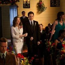 Martha (Annette O'Toole) arriva al matrimonio nell'episodio Finale di Smallville