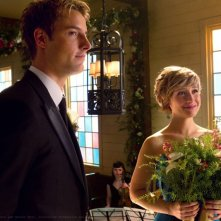 Oliver (Justin Hartley) e Chloe (Allison Mack) nell'episodio Finale di Smallville