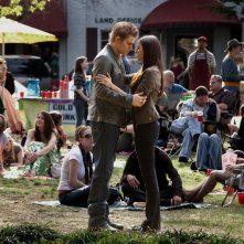 Una tenera scena dell'episodio As I Lay Dying di Vampire Diaries con Paul Wesley e Nina Dobrev