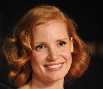 Cannes 2011:  Jessica Chastain presenta The Tree of Life in conferenza stampa.