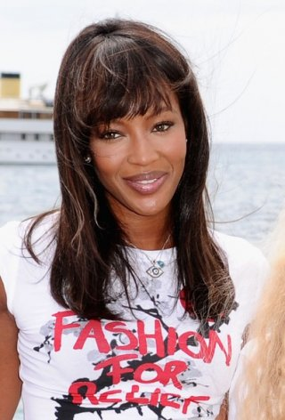 Cannes 2011: Naomi Campbell per Fashion for Relief, iniziativa benefica a favore del Giappone