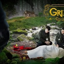 poster promozionale per la prima stagione della serie tv 'Grimm'