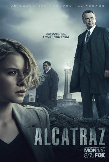 Un manifesto promozionale per la serie di J.J. Abrams 'Alcatraz'