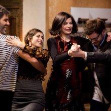 Clovis Cornillac e Olivia Bonamy in un'allegra scena del film Une folle envie