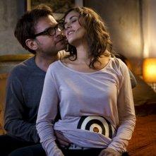Clovis Cornillac e Olivia Bonamy in una scena del film Une folle envie
