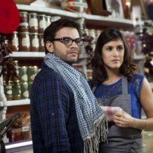 Clovis Cornillac e Olivia Bonamy, protagonisti del film Une folle envie