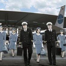 Una foto promozionale del cast della serie 'Pan Am'