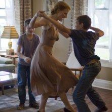 Jessica Chastain in una scena di The Tree of Life (2011)