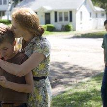 Jessica Chastain in una scena familiare di The Tree of Life