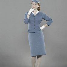 Kelli Garner in una foto promozionale del cast della serie 'Pan Am'