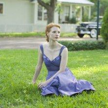 La bella Jessica Chastain in una scena di The Tree of Life
