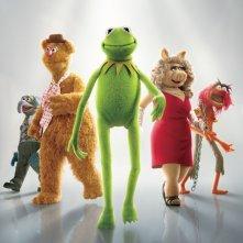 La locandina di The Muppets