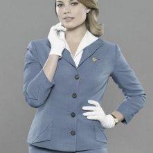 Margot Robbie in una foto promozionale del cast della serie 'Pan Am'