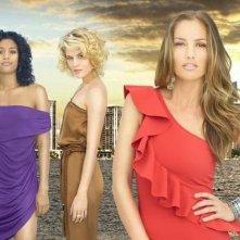 Una foto di gruppo del cast del remake di Charlie's Angels