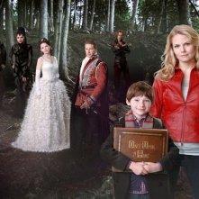 Una foto promozionale del cast della serie 'Once Upon A Time'