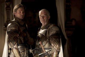 Una scena dell'episodio The Wolf and the Lion di Game of Thrones