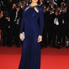 Cannes 2011: Bar Refaeli con un abito di Cavalli sul red carpet