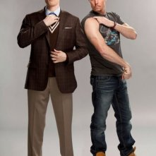 David Hornsy e Kevin Dillon in una foto promozionale per How To Be A Gentleman