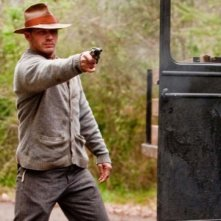 Tom Hardy in azione in The Wettest County in the World