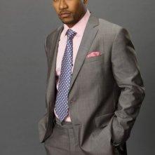 Columbus Short in una foto promozionale della serie tv Scandal