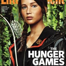 Copertina di Enterteinment Weekly che mostra Jennifer Lawrence col nuovo look per The Hunger Games
