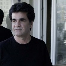 Una immagine del regista Jafar Panahi nella pellicola In Film Nist
