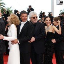 Cannes 2011: trenino sul red carpet per il cast de La piel que habito.