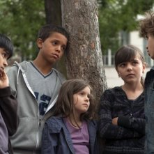 I giovani protagonisti del film Tutti per uno