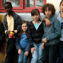 I piccoli protagonisti del film Tutti per uno