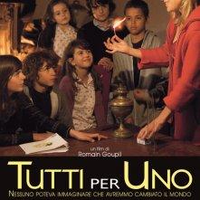 La locandina italiana di Tutti per uno