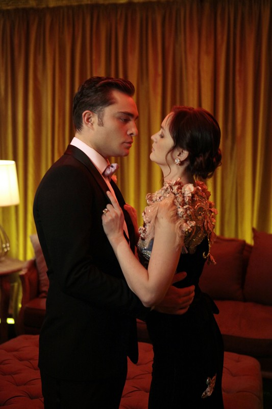 Ed Westwick E Leighton Meester Nell Episodio The Wrong Kiss Goodnight Di Gossip Girl 204094