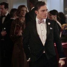 Ed Westwickin una sequenza dell'episodio The Wrong Kiss Goodnight di Gossip Girl