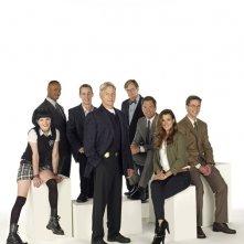 Il cast di NCIS in una foto promozionale per l'ottava stagione