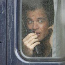Michael Weatherly in un momento dell'episodio Baltimore di NCIS