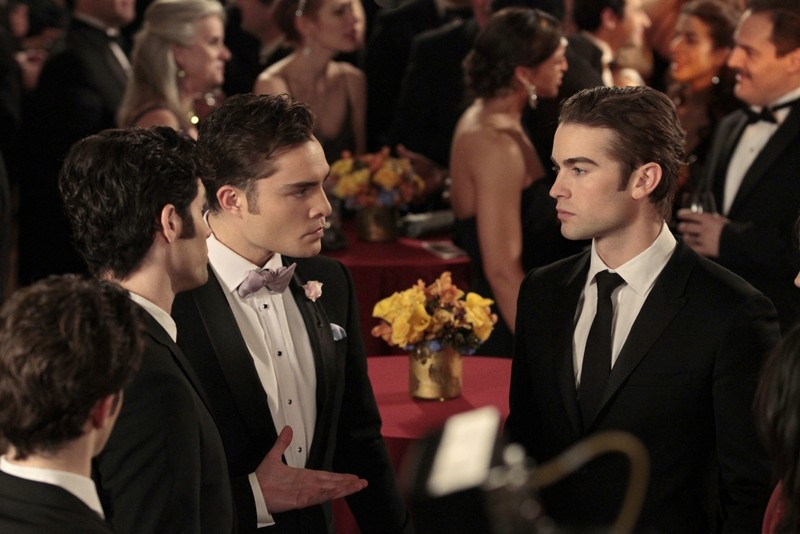 Penn Badgley Ed Westwick Chace Crawford Nell Episodio The Wrong Kiss Goodnight Di Gossip Girl 204095