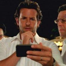Zach Galifianakis, Mason Lee, Bradley Cooper, Ed Helms e Justin Bartha in Una notte da leoni 2