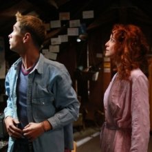 Boris Ler e Jelena Stupljanin in una scena del film Cirkus Columbia