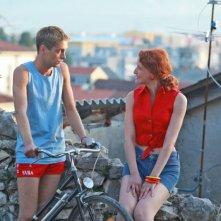 Boris Ler e Jelena Stupljanin nel film Cirkus Columbia
