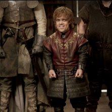 Peter Dinklage in una scena dell'episodio A Golden Crown di Game of Thrones