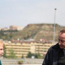 Salvatore Cantalupo con Yile Vianello nel film Corpo celeste