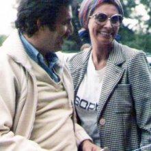 Alberto Spagnoli accanto a Sophia Loren sul set di Sophia Loren: Her Own Story