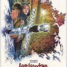 Ladyhawke, una locandina del film