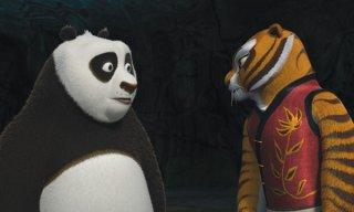 Po e Tigress in Kung Fu Panda 2