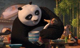Po nel ristorante cinese di Kung Fu Panda 2