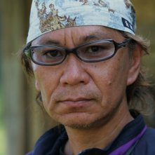 Takashi Miike sul set del film Hara-Kiri: Death of a Samuraï