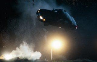 Una spettacolare scena del film Drive (2011)