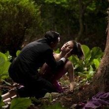 Antonio Banderas ed Elena Anaya in una drammatica scena di La Piel que Habito