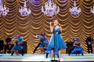 Charice Pempengco frontwoman dei Vocal Adrenaline nell'episodio New York, finale della seconda stagione di Glee