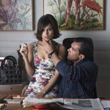 Elena Anaya e Antonio Banderas in una scena di La Piel que Habito