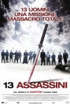 Locandina italiana di 13 assassini